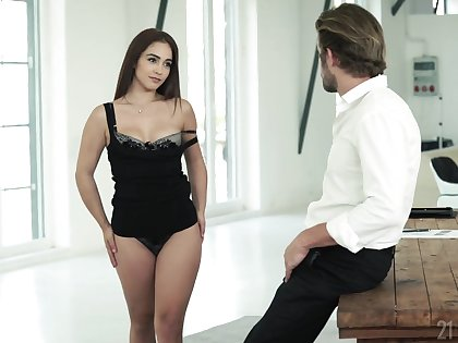 Bootyfull angel craving a man's touch and that girl is good at fucking