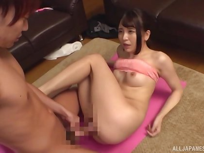 Japan sex at home between mommy and the step son