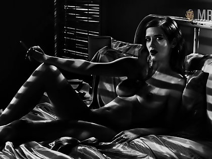 Bed and bathing nude scenes by charming Eva Green are extravagant