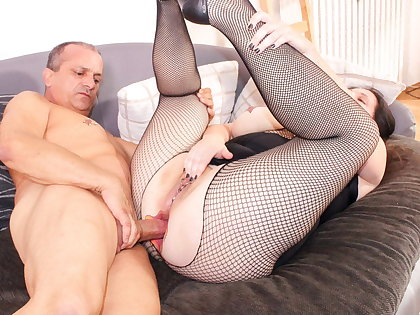 ReifeSwinger - BBW German Wife Tries Hard Anal With respect to Scrimp