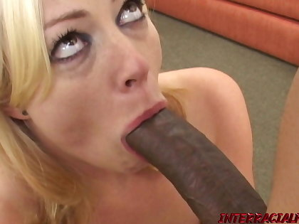 Adrianna Nicole is married but needs a BBC to satisfy her